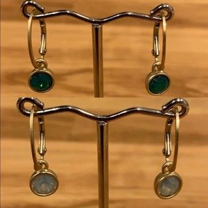 Interchangeable Stone Lia Sophia Earrings